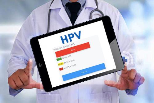 Uma calculadora de risco contra o HPV